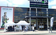 """Mobilny showroom """"Hettich on Tour"""" w Meble.pl S.A."""
